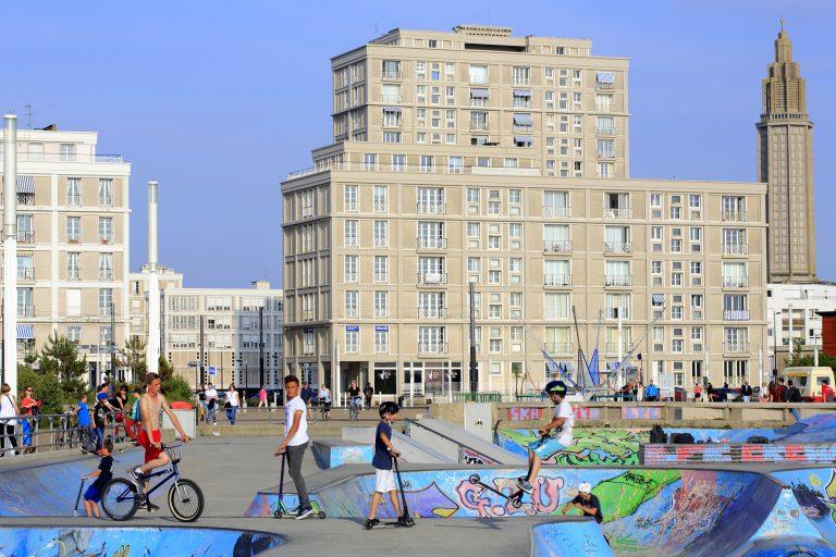 Skatepark au Havre