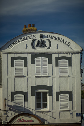 Criquetot l'Esneval, l'ancienne gendarmerie