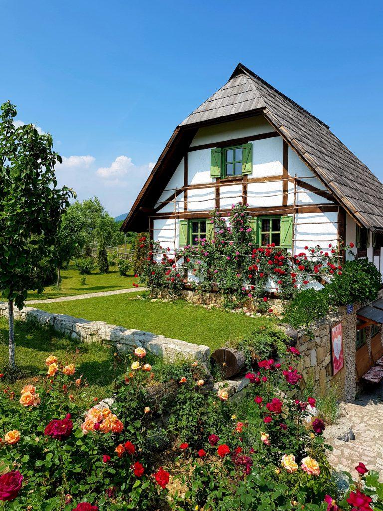 Belle maison à colombages