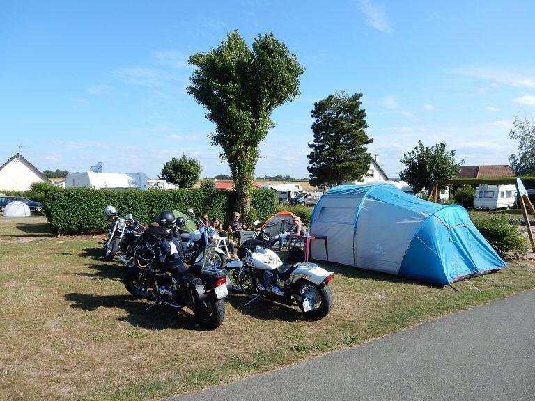 Camping à Etretat