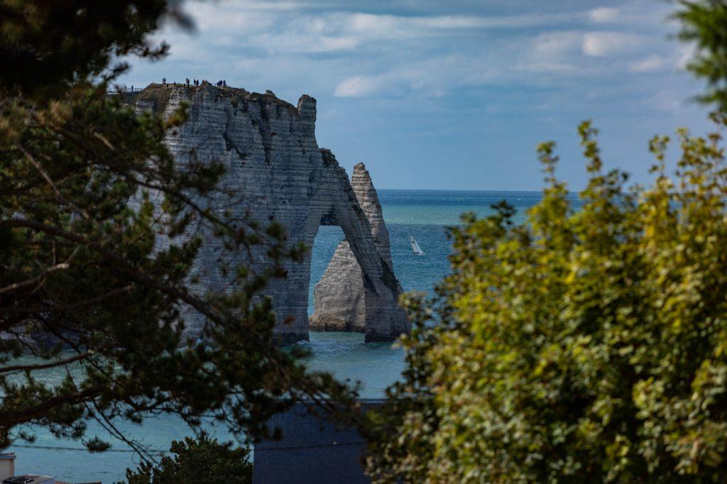 La falaise d'Aval et l'Aiguille