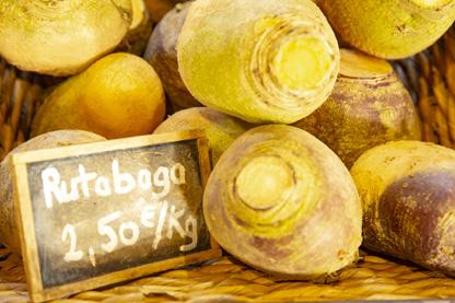 Rutabagas du marché de Gonneville la Mallet