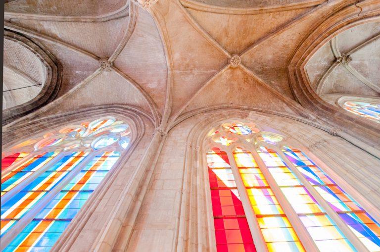 Intérieur de l'église Saint-Martin à Harfleur