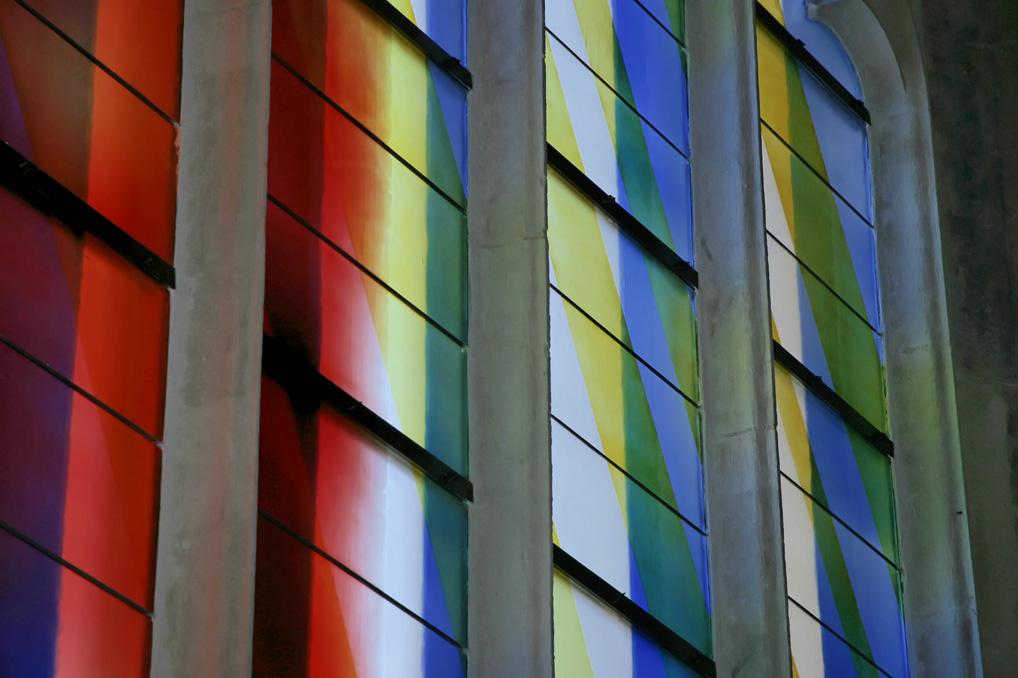 Nouveaux vitraux de l'église Saint-Martin d'Harfleur