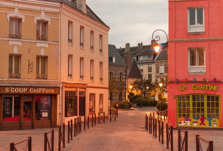 Centre de la commune d'Harfleur
