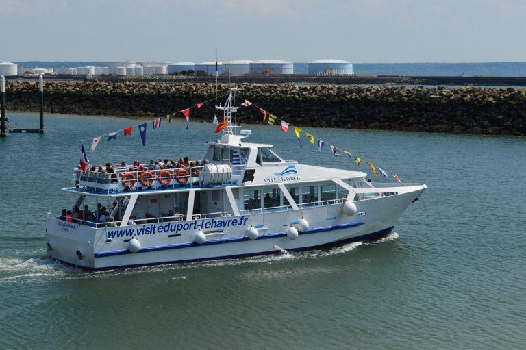 Le bateau Ville du Havre 2