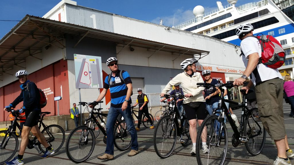 Le Terminal croisière du Havre propose des locations de vélos