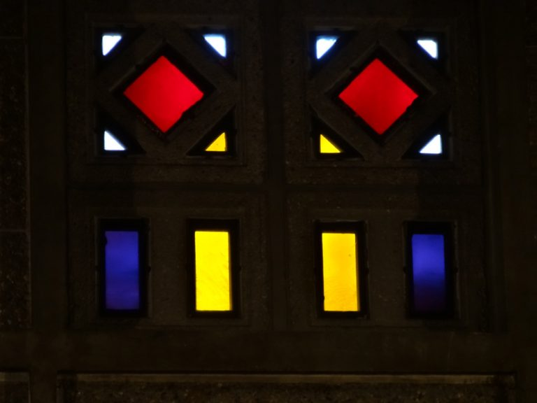 Vitraux intérieurs de l'église Saint-Joseph