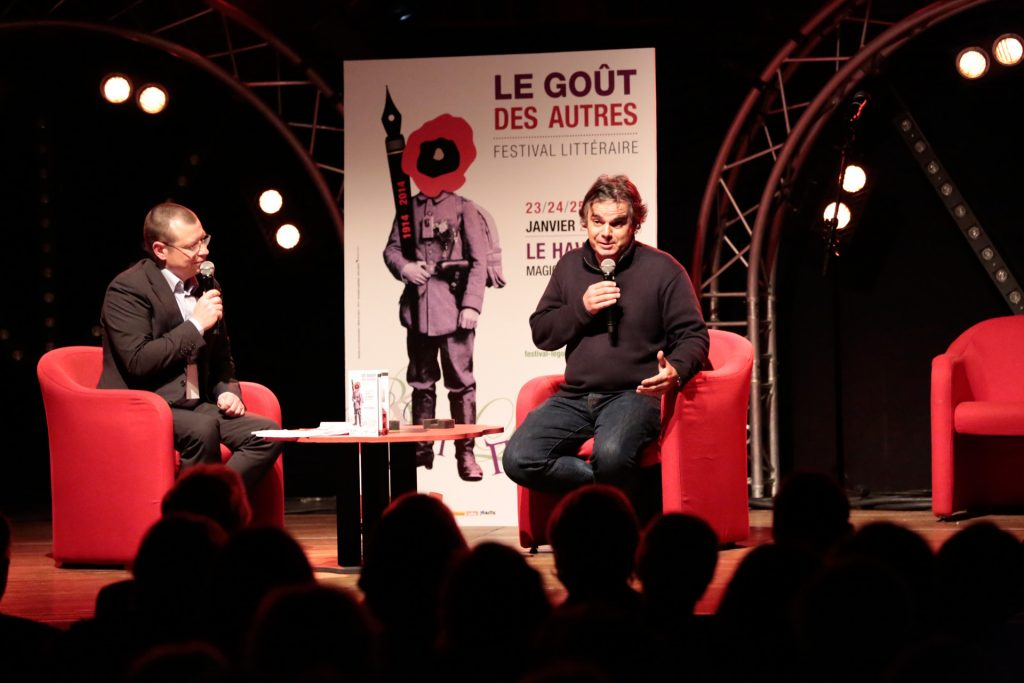 Rencontre d'auteurs au festival Le Goût des Autres