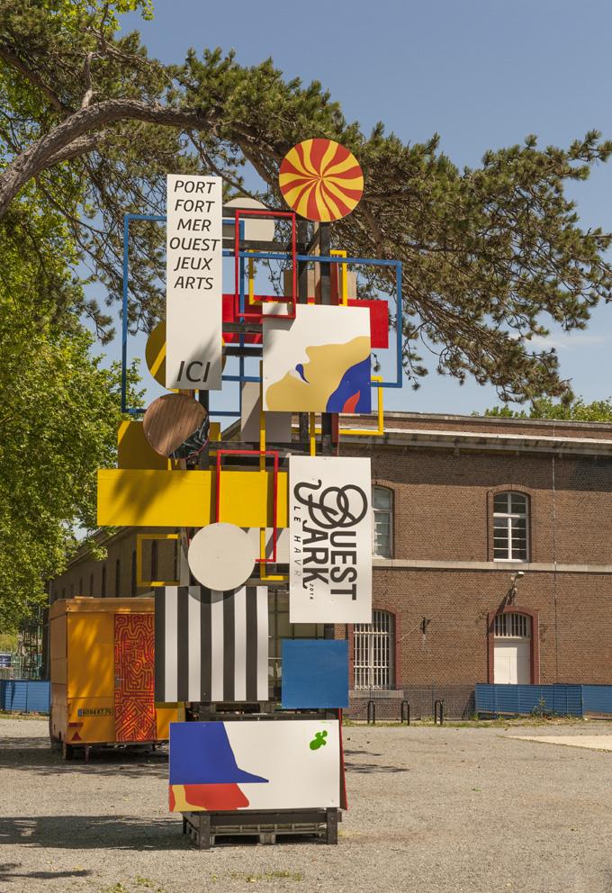 Le Ouest Park Festival se déroule au Fort de Tourneville au Havre