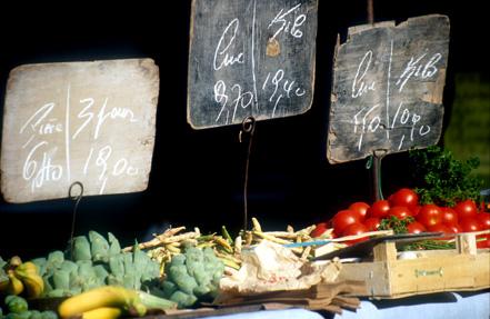 Fruits et légumes des marchés de la Côte d'Albâtre