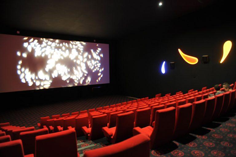Salle de cinéma du Gaumont au Havre