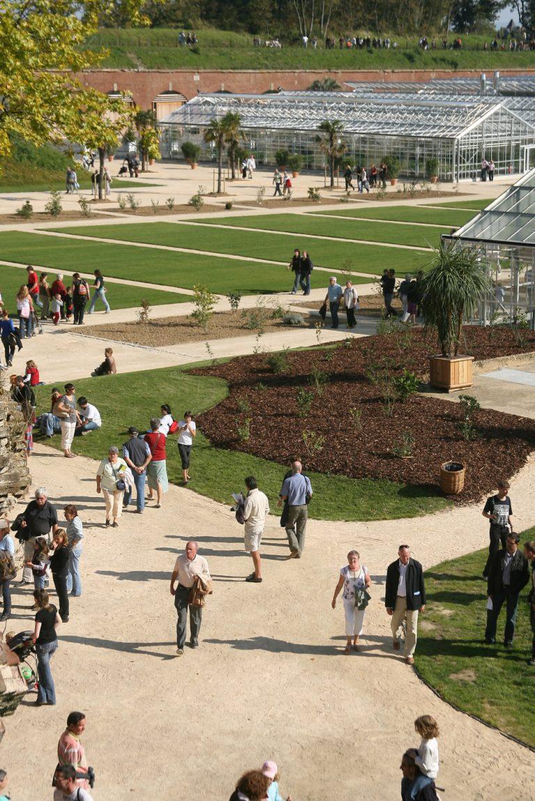 Les Jardins Suspendus sous le soleil