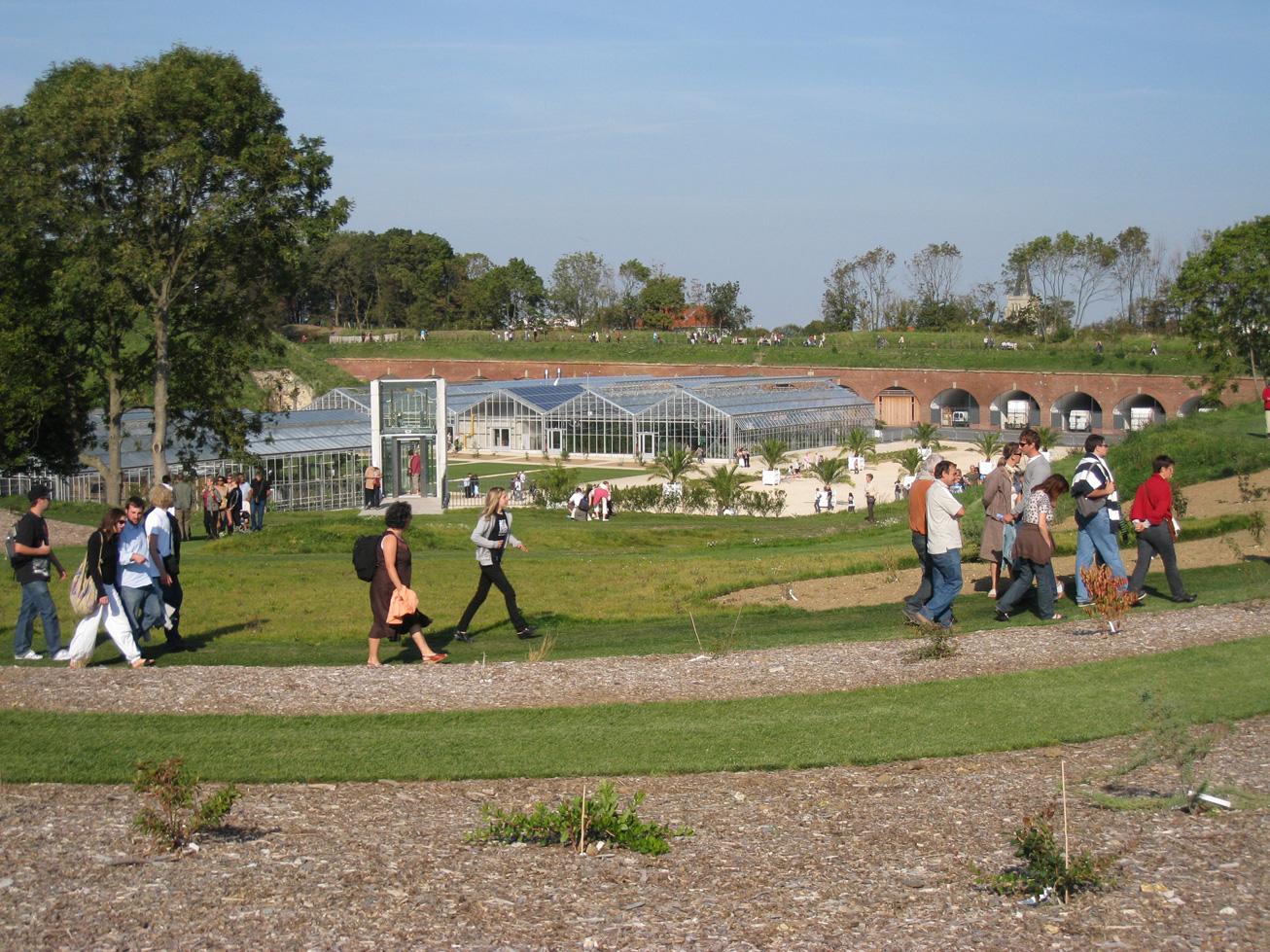 Balade en famille aux Jardins Suspendus