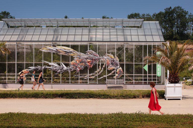 Les Jardins Suspendus, les serres de collection