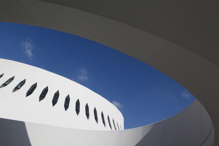 Le Volcan d'Oscar Niemeyer