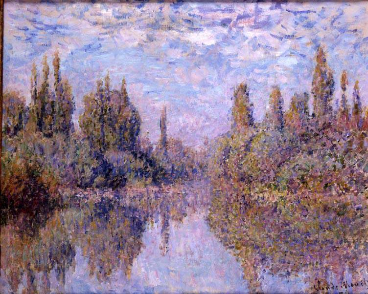 La Seine à Vétheuil par Claude Monet