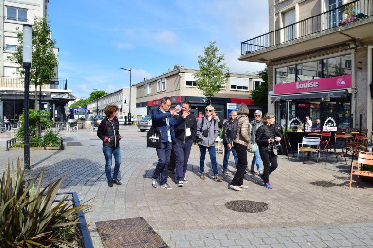 Visite guidée du centre-ville du Havre par un greeter
