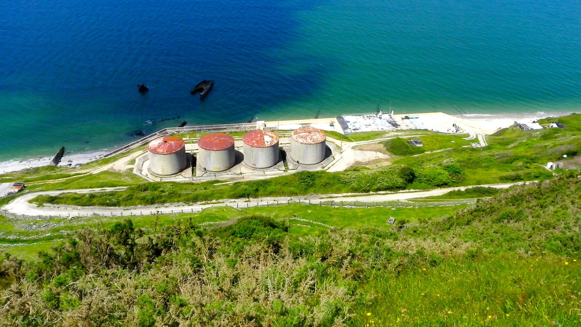 La ferme marine Aquacaux à Octeville-sur-Mer