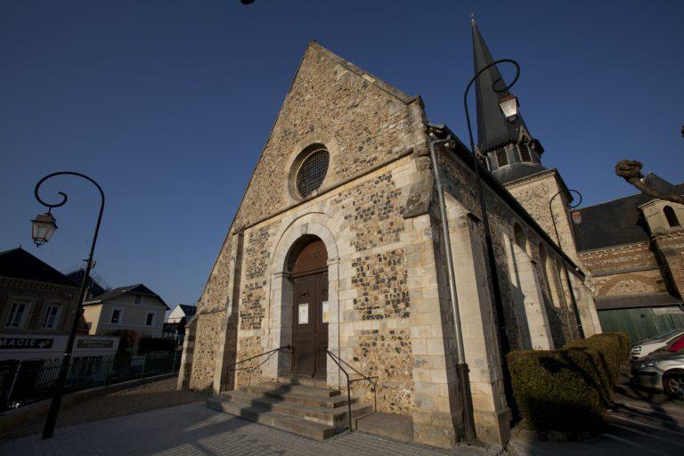 L'église Saint-Martin d'Octeville-sur-Mer