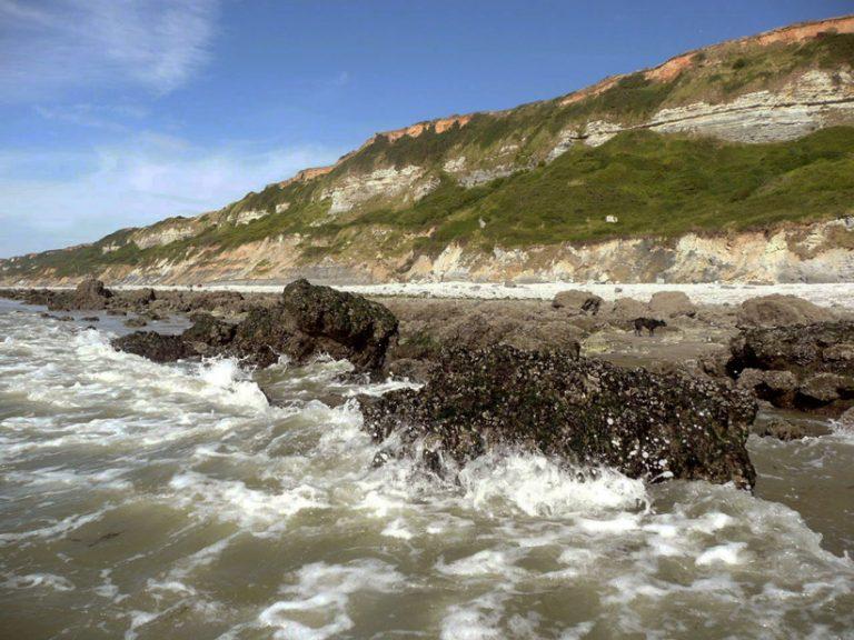 La plage d'Octeville-sur-Mer