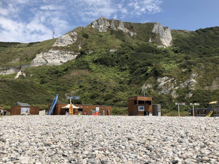 La plage de Saint-Jouin Bruneval