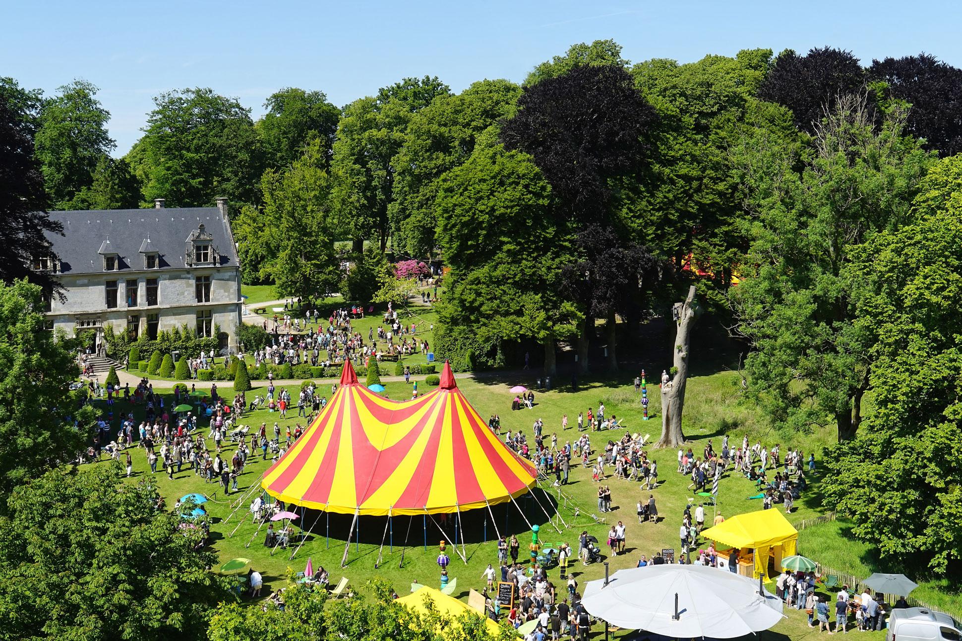 La fête du cirque Saint-Romain de Colbosc