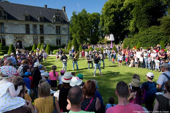 Fête du cirque à Saint-Romain-de-Colbosc