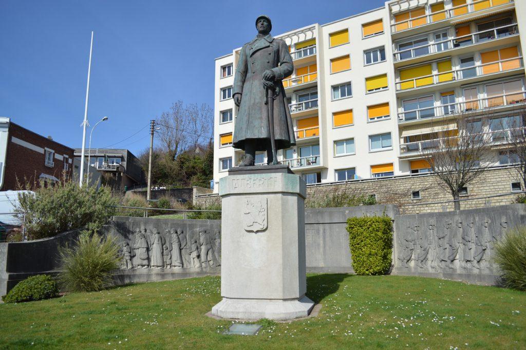 Statue du roi Albert 1er à Sainte-Adresse