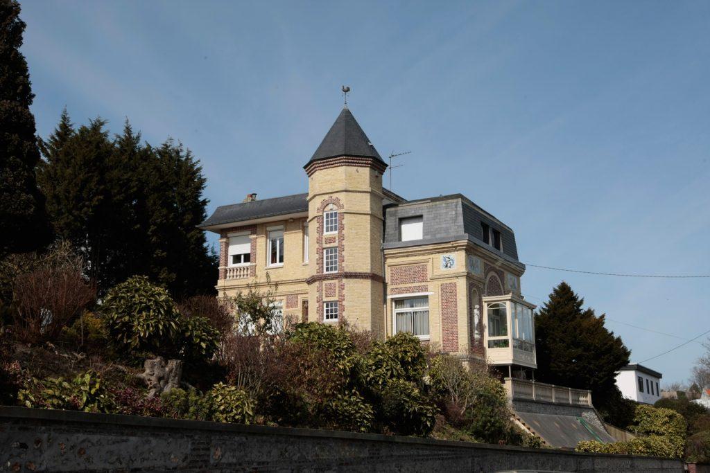 La villa Sarah Bernhardt à Sainte-Adresse