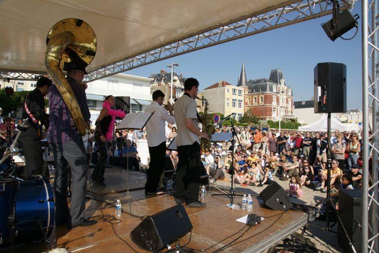 Festival de jazz sur les plages de Sainte-Adresse et du Havre