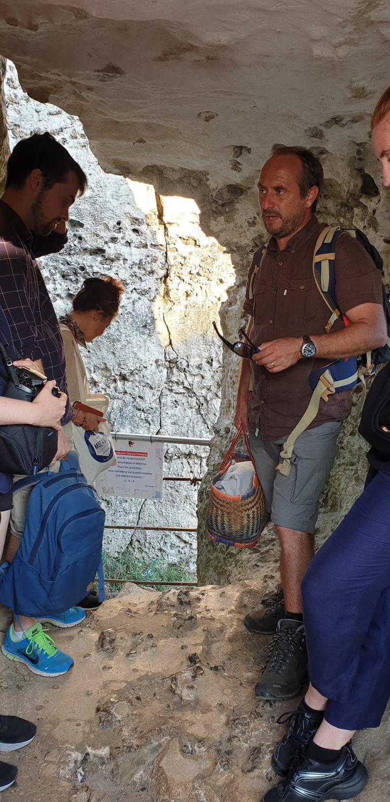 Cyriaque Lethuillier, guide naturaliste à Etretat