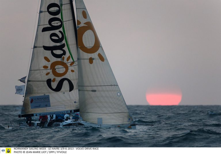 Voilier Sodebo lors de la Normandy Sailing Week