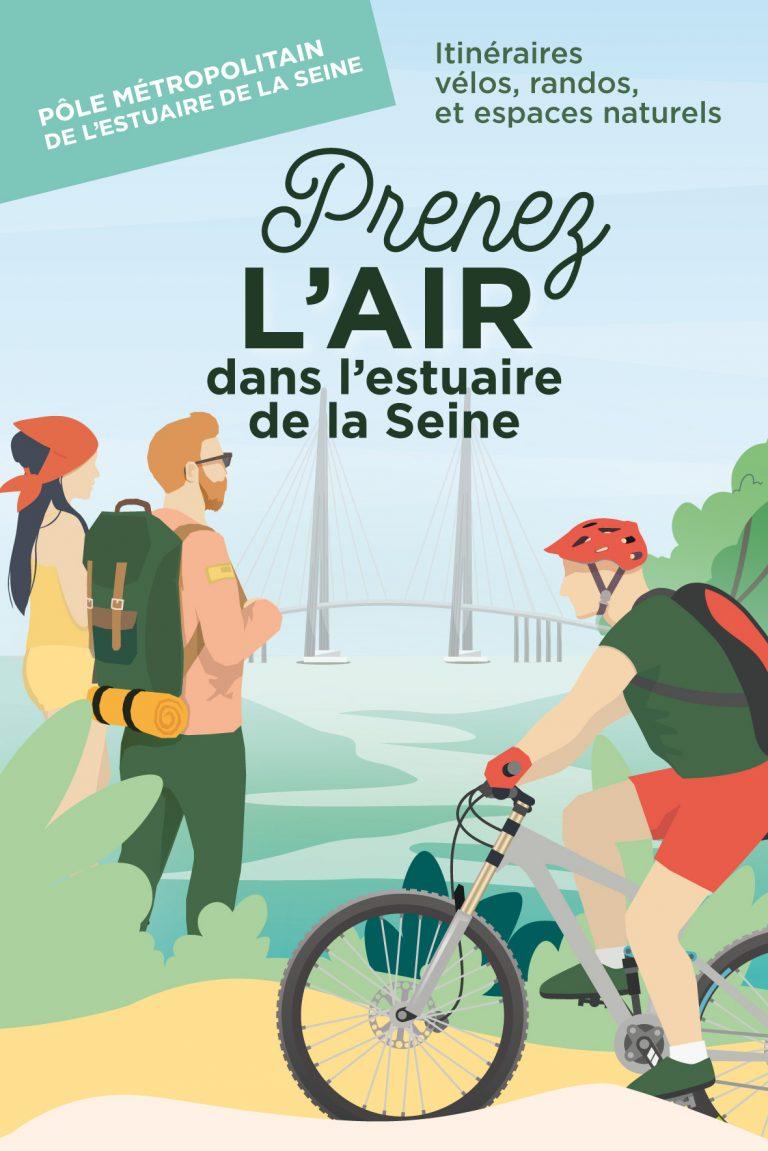 Itineraires vélos et rando estuaire de la Seine