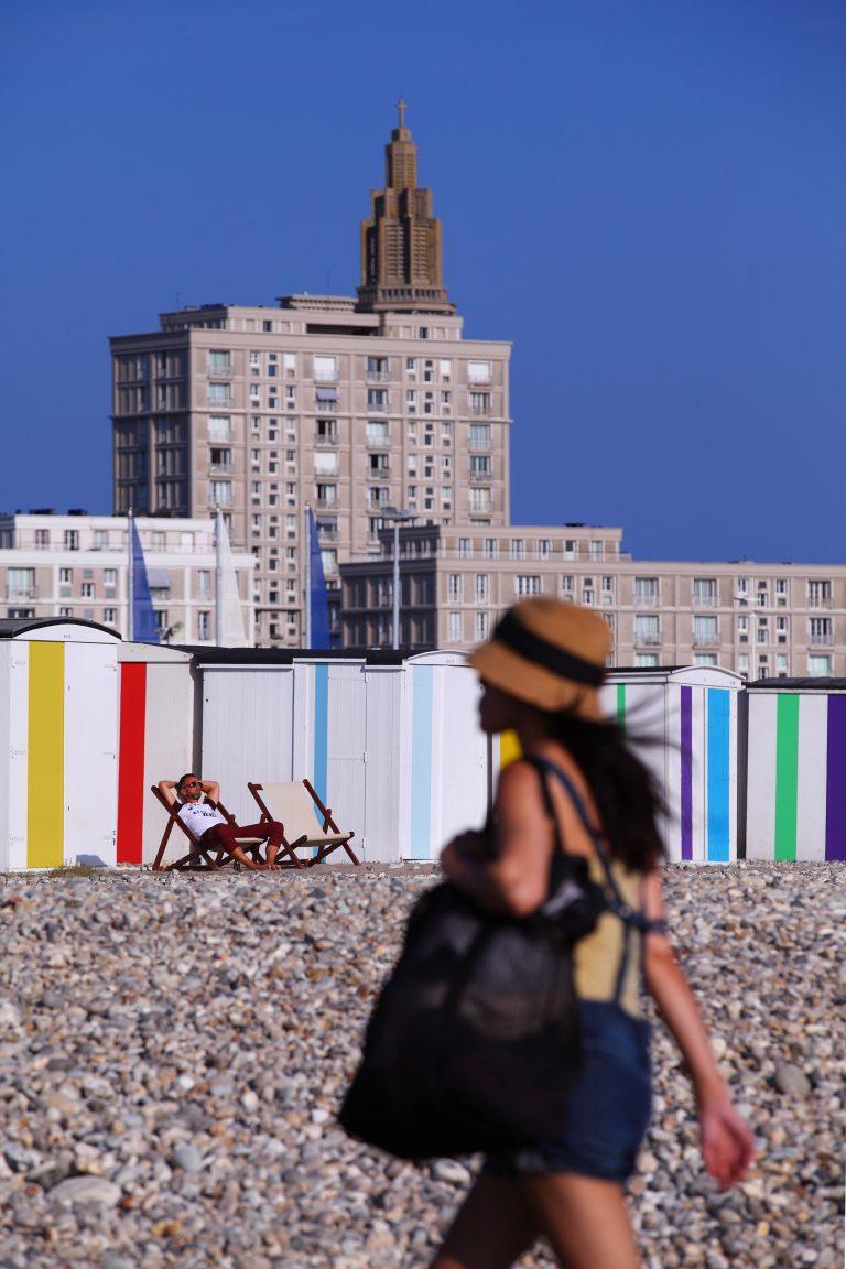 Le Havre, une plage dans la ville