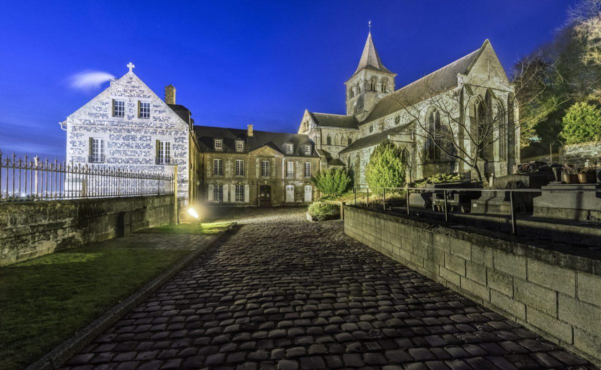 L'abbaye de Graville au Havre