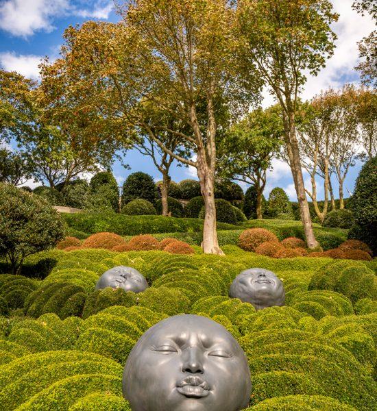 Des œuvres représentant des émotions photogéniques dans les Jardins d'Etretat