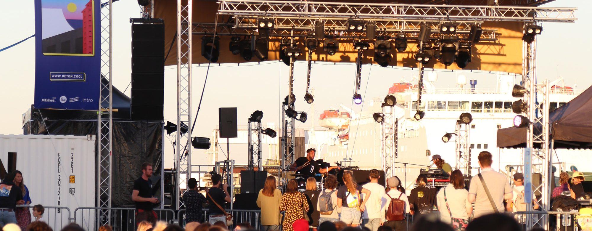 Le Havre festival architecture food musique Béton