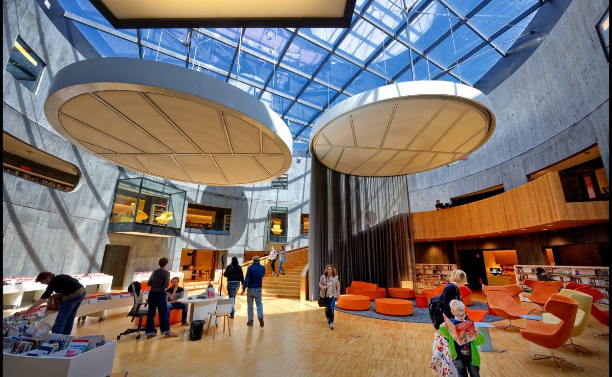 La bibliothèque Niemeyer et son architecture unique
