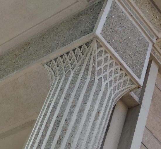 Détails architecturaux béton Perret