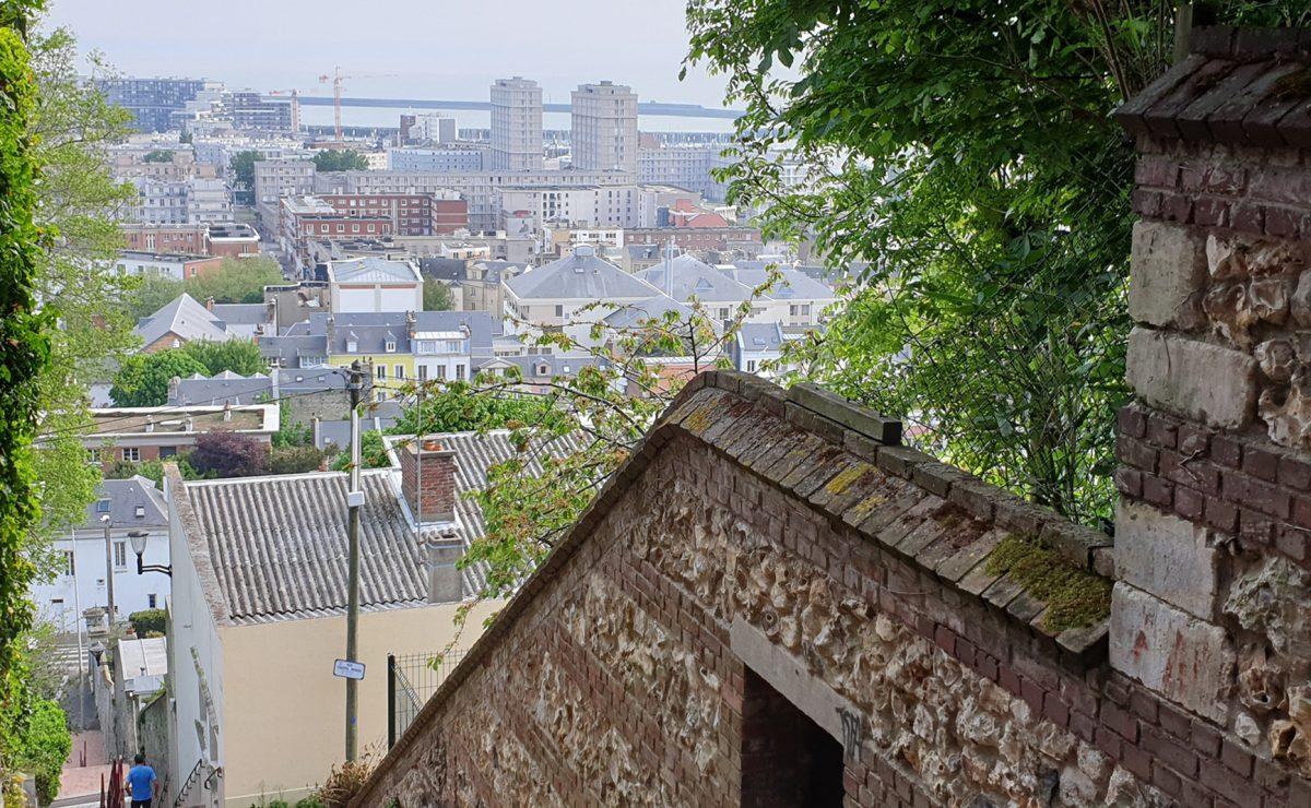 Le Havre, escalier Beasley