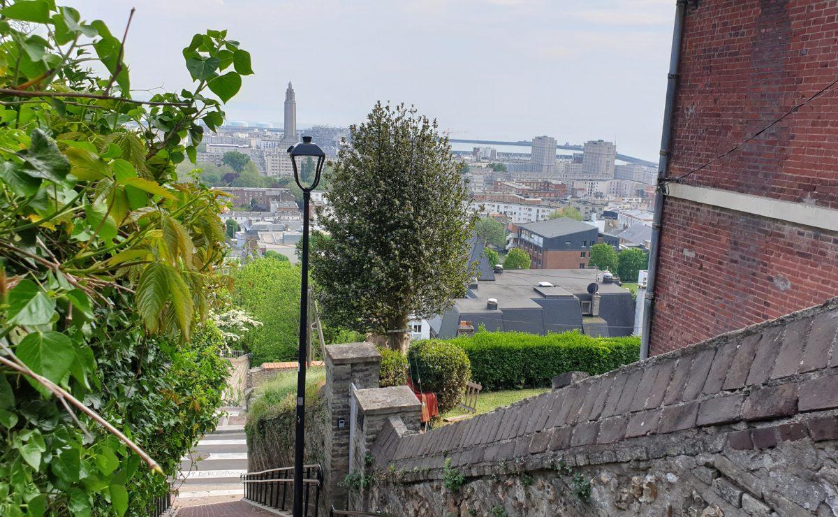 Escalie des Noyers, Le Havre