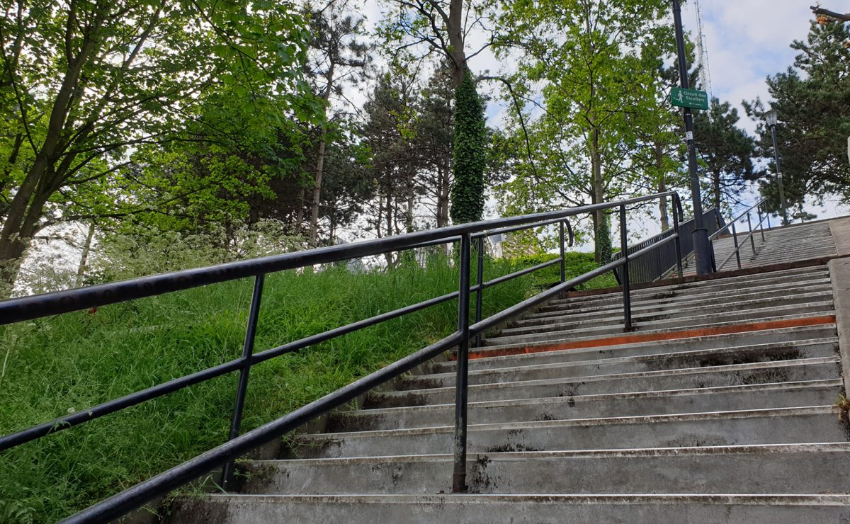 Le Havre, escalier Olivier Senn