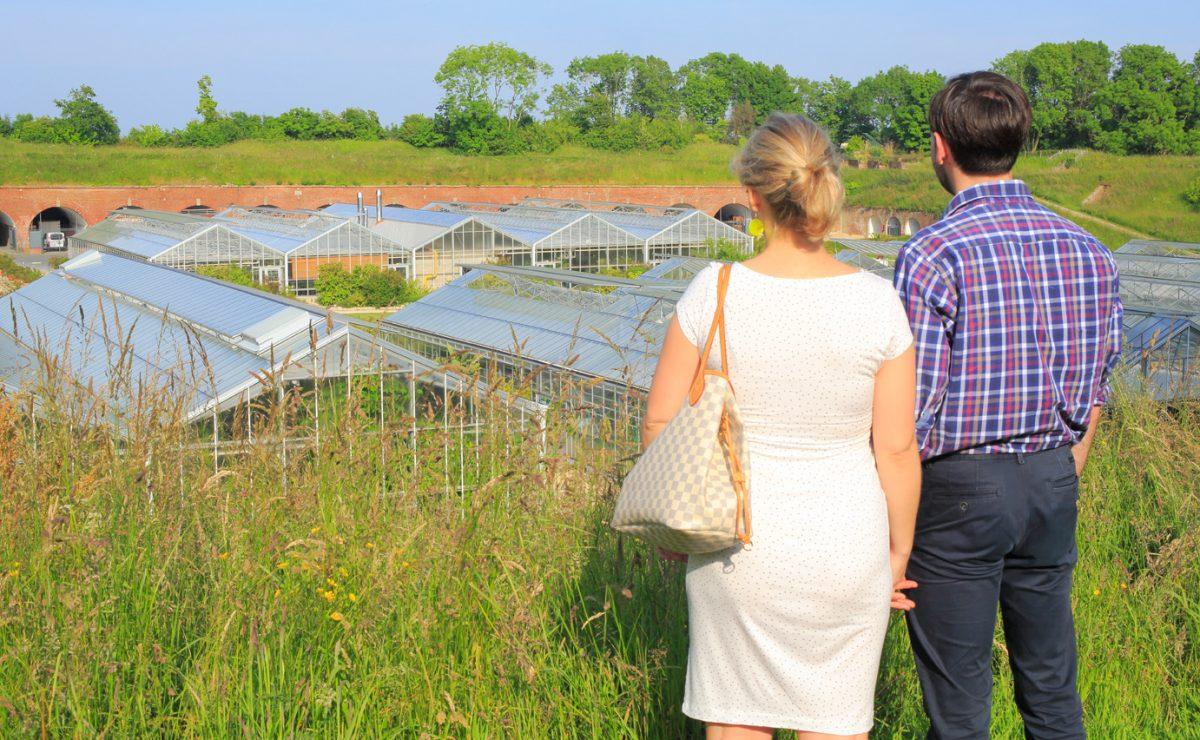 Couple aux Jardins Suspendus du Havre