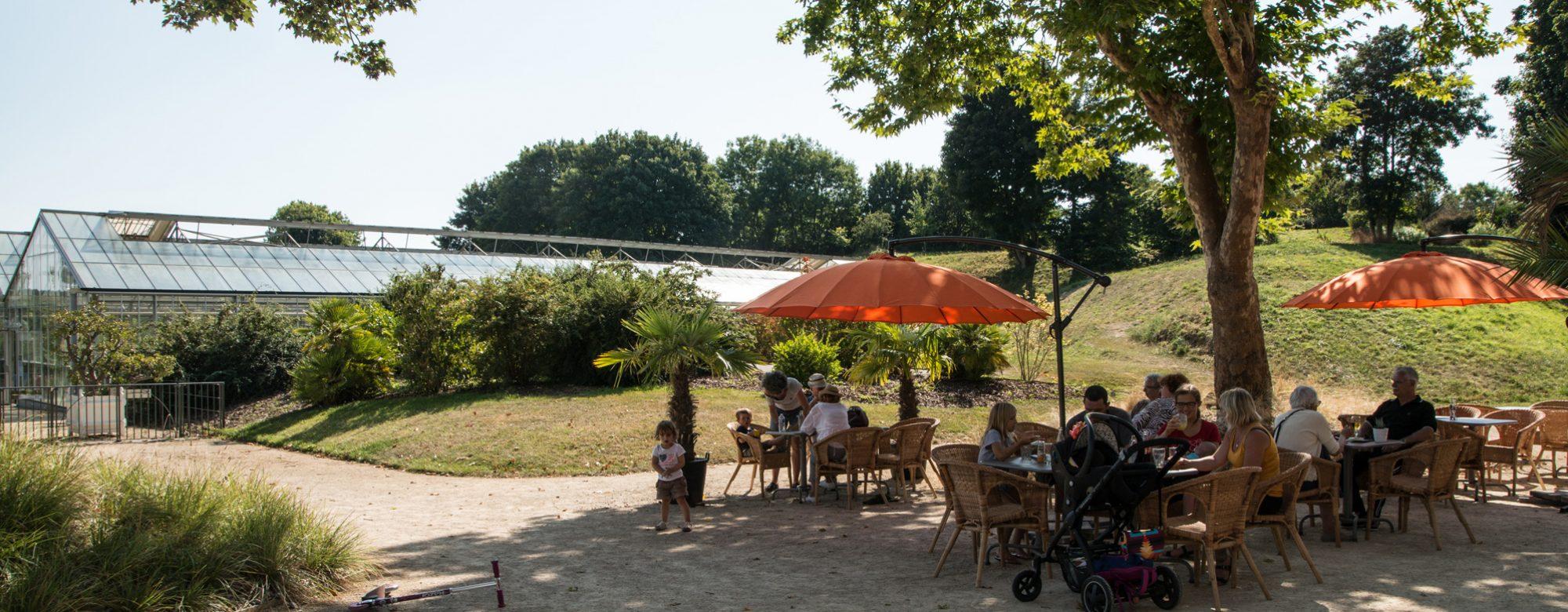 Pause café ou thé aux Jardins Suspendus