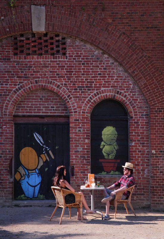 Les Jardins Suspendus, prendre un verre en terrasse