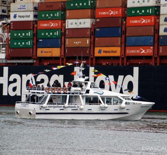 Visite du port du Havre en bateau