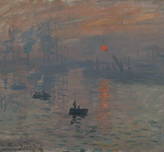 Impression soleil levant par Claude Monet