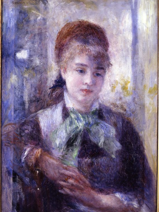 Portrait de Nini Lopez par Pierre-Auguste Renoir