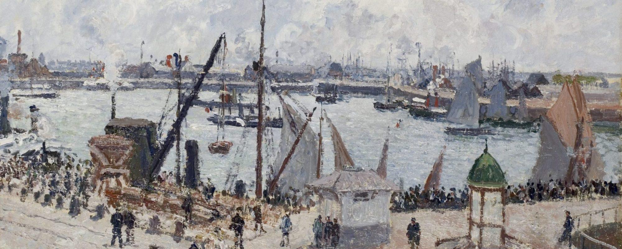 Camille Pissaro, l'Anse des Pilotes, Le Havre